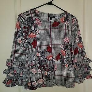 Floral Alfani dress shirt